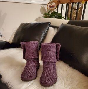 (7) Ugg Austalia Cardy knit boots